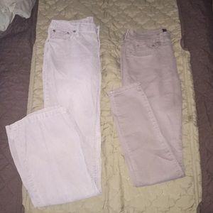 2 pair pants size 4. Bag #88